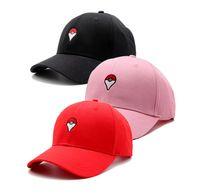 Wholesale Ash Ketchum Cap - Cosplay Mobile Game Poke Go Team Valor Mystic Instinct Snapback Baseball Cap Hat Ash Ketchum Visor Unisex
