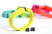 Wholesale material wristbands - Fitbit flex intelligent bracelet accessories replacement wristband green strap with card buckle TPE + TPU composite material manufacturing