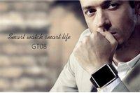 gsm tela livre venda por atacado-Smartwatch gt08 bluetooth smart watch telefones suporte gsm 32 gb cartão tf tela de toque smartwatch relógios bluetooth frete grátis por ohyes