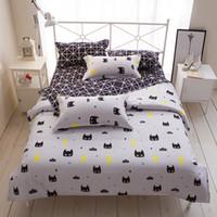 Wholesale Batman Twin Bedding - Cartoon Stripe Batman 3 4pcs bedding sets bed set bedclothes for kids bed linen Duvet Cover Bed sheet Pillowcase,twin full queen
