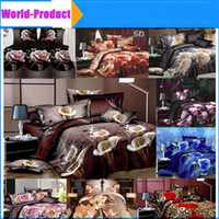 Wholesale Silver Articles Wholesale - 2016 Home textile New style 4pcs Bedding set bedding article bed sheet duvet cover pillowcase Queen size