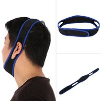 Wholesale Nose Snore Stopper - Cheap Price Anti Snore Stop Snoring Chin Strap Snore Stopper Belt Anti-Ronquidos Nose Snoring Solution Breathing Snore Stopper For Sleeping