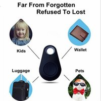 Wholesale Universal Personal - Anti-Lost Alarm Universal Spy Mini GPS Tracking Device Auto Wireless Bluetooth GPS Tracker For Kids Pets Car Motorcycle Tracker
