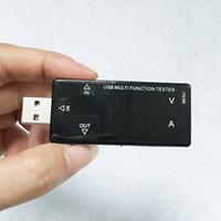 voltmetre test cihazı toptan satış-Yeni varış mini 3-30 V USB akım voltajı test volt güç kapasitesi Aşırı şarj koruması Zamanlama kapalı Şarj Voltmetre Dedektörü