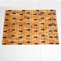 Wholesale Bamboo Gel - Non Slip Bamboo Bath Mat Anti Shower Safety Protection with Non Slip Gel