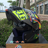 Wholesale Helmet Xxl Black - 2017 New For 46# Flip Up motorcycle helmet full helmet ATV helmet Safety dual lens