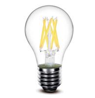 Wholesale ul certificates - 110v 240v filament light E27 B22 UL ce rohs certificate 4w 6w bulb led filament with A60 G80