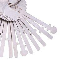 ingrosso utensili per la raccolta di chiavi-2017 Nuovo KLOM Warded Pick Set 40 PZ chiavi Ward Lock Keys Warded Lock Skeleton Key Warded Keys Sbloccare strumenti per fabbro professionale