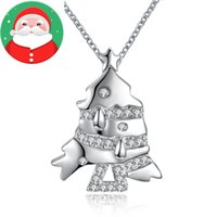 Wholesale Pearls Stores - Merry christmas gold and silver necklace locket necklace New Arrival Wholesale Discount Fashion Brands Designer Online Store