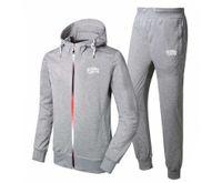 Wholesale korean slim men s suit - BBC sweat suit 2017 suit South Korean Men tight thin cotton fashion leisure Sweatshirts set Male brand sports hoodies + pants