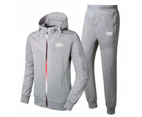 Wholesale Men Sweat Hoodie Korean - BBC sweat suit 2017 suit South Korean Men tight thin cotton fashion leisure Sweatshirts set Male brand sports hoodies + pants