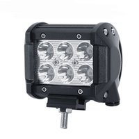 Spotlight CREE Chips 18W LED Work Light Bar Flood spot Poutre Offroad Light Bar Fit ATV Pick-up pour Jeep Ford Motor