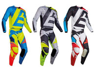 Wholesale Bike Racing Gear - 2017 New 180 GEAR SET Motocross Suit Motobiker Racing Riding Jersey+Pants Motocross MX ATV Dirt Bike Racing Sets riding clothes