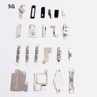 iphone innere klammern gesetzt großhandel-Innere Zusätze innerhalb der kleinen Metallteile für iPhone 6 6S plus 5.5 Zoll Halter-Haltewinkel-Schild-Platten-gesetzte Installationssatz für iPhone 5 / 5s / 5c