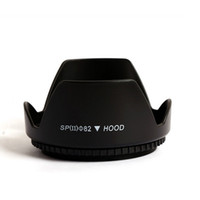 Wholesale 55 camera - Camera Flower Petal Lens Hood mm for Nikon Canon mm mm mm T4I D