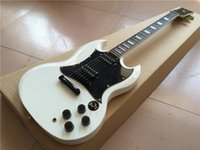 Wholesale angus young resale online - New arrival high quality Classic Model high Service Guitar white Color Angus Young Style Available Electric guitarra