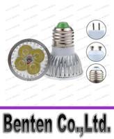 mr16 24v led ampuller toptan satış-Ucuz Yüksek güç CREE 12 W 4x3 W Kısılabilir GU10 / MR16 / E27 / E14 / GU5.3 / B22 Led Işık Lamba Spot led ampul Enerji Tasarrufu LLFA218