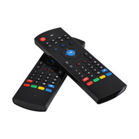 Wholesale android tv fly mouse for sale - Air Fly Mouse MX3 GHz Wireless Keyboard Remote Control Somatosensory IR Learning Axis without Mic for S905X S912 Android TV Box