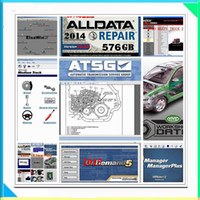 2017 Alldata Auto software Alldata 10.53 e Mitchell software 2015 Car Repair Software con manuale tutti i dati 10.53 e 1000 GB di hard disk