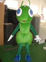 disfraces de hormigas al por mayor-Disfraz de mascota de alta calidad Disfraz de mascota de hormiga de imagen real 100% para envío gratis para adultos
