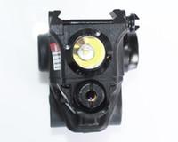 ingrosso punti luce laser per pistole-Luce a led montata su pistola rapida rimovibile 2 in 1 con mirino laser verde