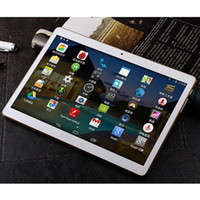 9.6 polegadas Tablet PC 4G RAM + 64GB ROM MTK8382 Dual SIM Card Chip Processadores Core 8 IPS Screen 3G Phone Tablets