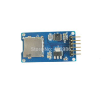 Carte spi sd Prix-10PCS / lot Module de carte Micro SD mini carte TF Read and Write module avec interface SPI FZ0829