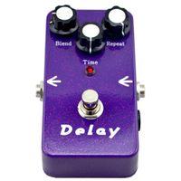 gitarreneffekt pedal marken groihandel-guitar DELAY Gitarreneffektpedal True Bypass E-Gitarren-Stompbox-Pedale! NEUER ZUSTAND!