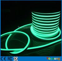 ingrosso rgb arancione chiaro-50 m spool super luminoso flessibile led luci corda al neon rosso giallo blu verde bianco rosa arancione rgb 110 v 120 v 127 v