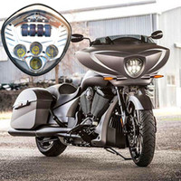 Wholesale Victory Cross - Victory Motorcycle LED Headlight Kit High intensity Cross Country LED headlights For 07-16 CRUISERS 2010-2016 CROSS MODELS