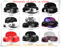 Wholesale Custom Adjustable Hats - New Snapback Hats Cap Cayler Sons Snap back Baseball football basketball custom Caps adjustable size drop Shipping choose from album CY07