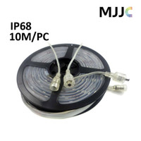 Wholesale Glue Led Strip - 10M 12V 24V IP68 Silicon Glue Waterproof LED Strips 5050 SMD 60LED M 300LEDs Warm Cool White Stripe Lighting Outdoor