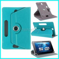 Wholesale 7inch Tablet Skins - New Fashion Tablet cases 360 Degree Rotating 7inch 9inch 10inch Multi-color PU Leather Case Flip Fold Cover Buckled Universal Tablet Case