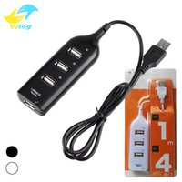 Wholesale Wholesale Usb Sharing Switch - Micro USB Hub Mini 4 Port USB 2.0 charing Hub USB Port Sharing Switch For Laptop PC Computer Peripherals Accessories