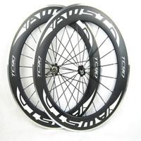 Wholesale Best Price Rims - AWST 88mm Carbon Wheelset 700C Clincher Rim Alloy Brake Surface R36 Hub Road Bike chinese Carbon Wheels basalt Braking Surface best price