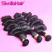 Wholesale Natural Wave 5pcs - Best Selling Indian,Peruvian,Malaysian Original Human Brazilian Hair weft Wavy 3 4 5Pcs Brazilian Body Wave Human Hair Weaves Products