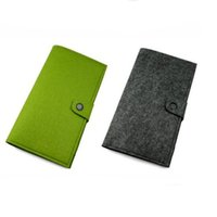 Wholesale green screen photos - Felt More screens card package wallet folding multi-function coin purse fashiondrop shipping Can be customized adding logo