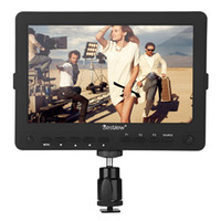 Wholesale Hd Camcorder Resolution - BSY703 7 inch Ultra HD LCD Video Field Monitor with 1280x800 High Resolution HDMI AV for Canon Nikon Sony DSLR Camera Camcorder