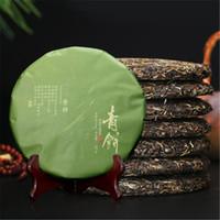 gâteaux au thé achat en gros de-C-PE110 Arbres anciens Puerh Yunnan sept sous-gâteaux thé au thé Gâteau au thé cru 357g pu er tuo cha