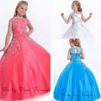 Wholesale Burgundy Color Accents - Beaded Accent Capped Sleeve Soft Tulle Perfect Angels Pageant Dress Flower Girl Dresses