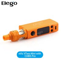 Wholesale Joyetech Evic Free - Joyetech Evic Vtwo mini Starter Kit with Cubis Pro Atoomizer and Evic Vtwo mini Battery Mod DHL Free Shipping