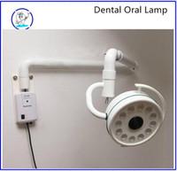Wholesale Dental Materials Apparats - free shipping Dental LED lamp cold light lamp circle lamp none the shadow lamp materials dental apparats