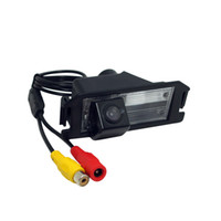 Wholesale Hyundai Backup - LEEWA Special Backup Rear View Car Camera For Hyundai Veloster Genesis Coupe I30 KIA Soul Parking Camera #4529