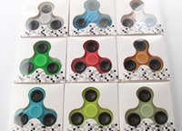 Wholesale Wholesale Kids Toys China Freeshipping - Fidget Spinner Hand Spinner Fashion kids Toys Professional and finger spinners tri fidget toy from China markets