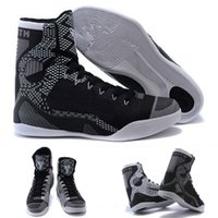 Wholesale With shoes Box New Bryant Kobe IX KB Elite High BHM Black History Month Blackout Men Boots Shoes
