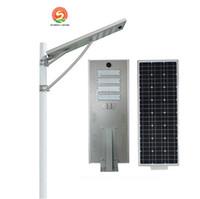 Wholesale Industrial Solar - 25W 30W 50W 60W 80W 100W intergrated solar outdoor led spotlights streetlight lamp 3years warranty light control body induction Floodlight