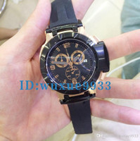 Wholesale Watch Ts - Wholesale - Men's T-Race Black Dial Japan Quartz Working Chrono Yellow Rubber strap Wrist Mens Luxury Watch ts Watches Gift