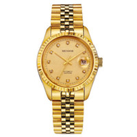 Wholesale Watches Men Swiss - (MESHOR) constant series of automatic mechanical men's watch Classic men's watch men watches Swiss watch brand 9003 gold