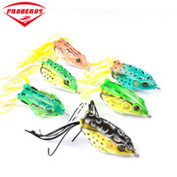 Wholesale freshwater frog lures online - 6pc Soft Bait Colors Fishing Lures quot cm Fishing Bait oz g Fishing Tackle Frog Lure Bass Baits