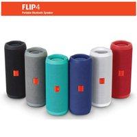 Wholesale Flips Speakers - Original Flip4 Wireless Bluetooth Small Speaker Music Kaleidoscope 4 Audio Waterproof Power Sound Supports Multiple Portable Flip 4 PK flip3